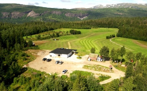 polarsirkelen golf arctic circle golf mo i rana